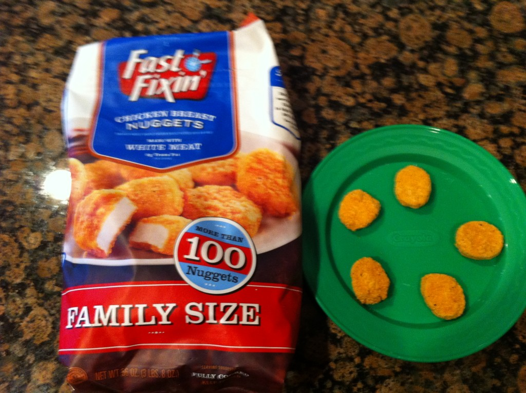 Fast Fixin' Chicken Nuggets