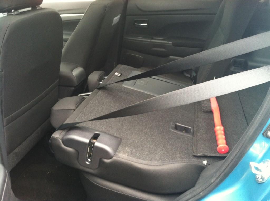 Mitsubishi Outlander Sport Fold Down Seats 2