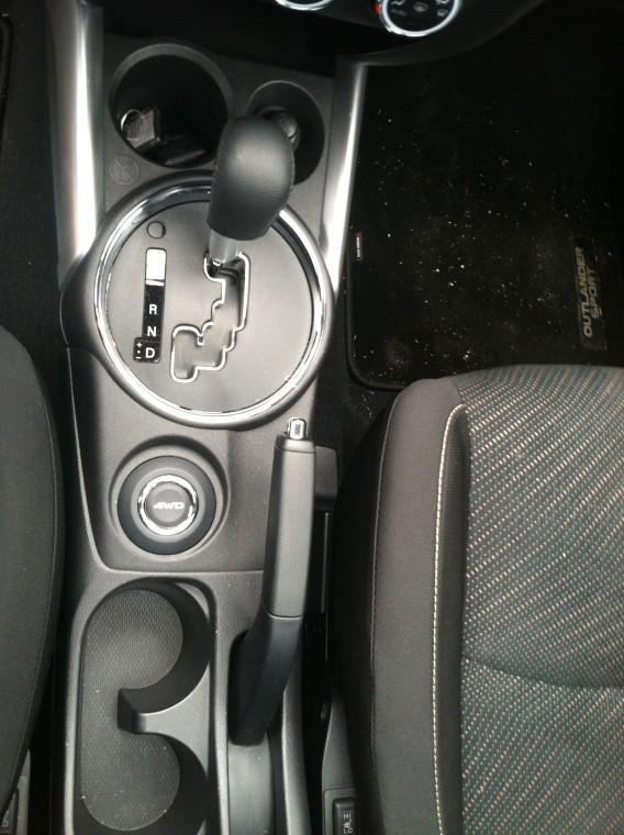 Mitsubishi Outlander Sport Gear Shift