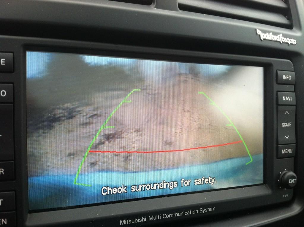 Mitsubishi Outlander Sport Rear Camera