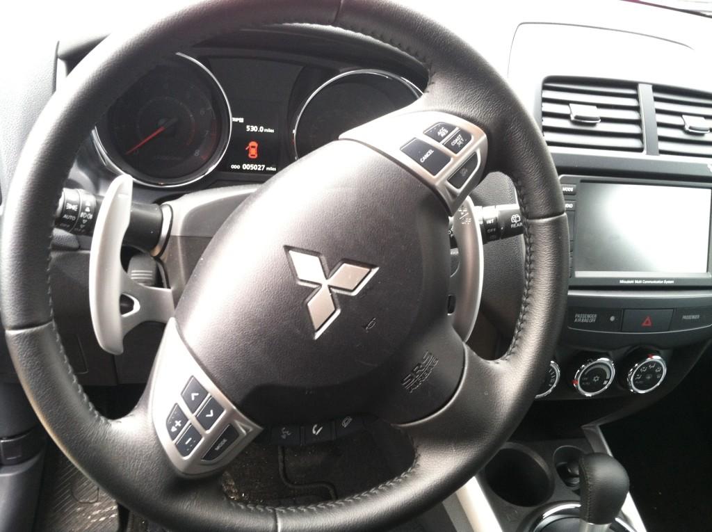 Mitsubishi Outlander Sport Steering Wheel