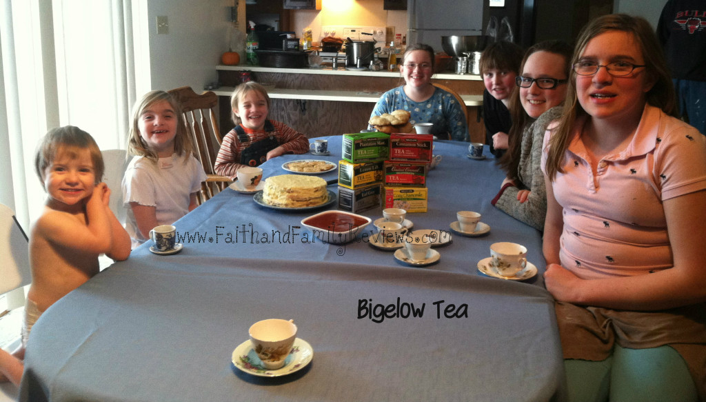 Family Bigelow Tea Party 2