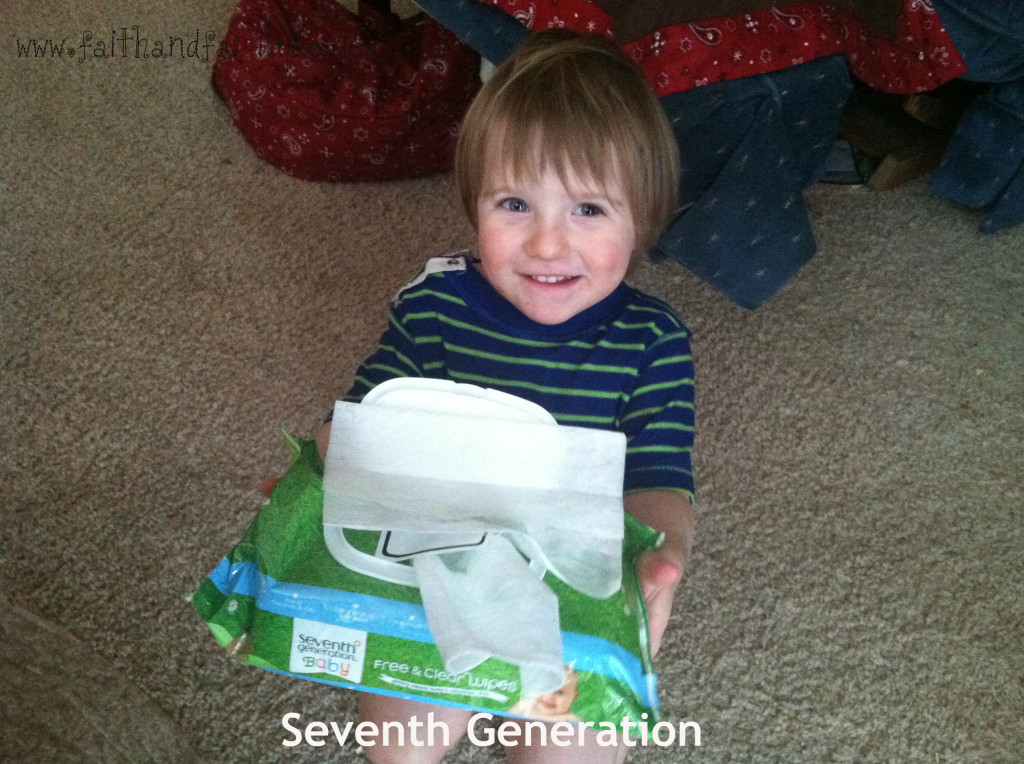 Baby Boy Seventh Generation Wipes 2