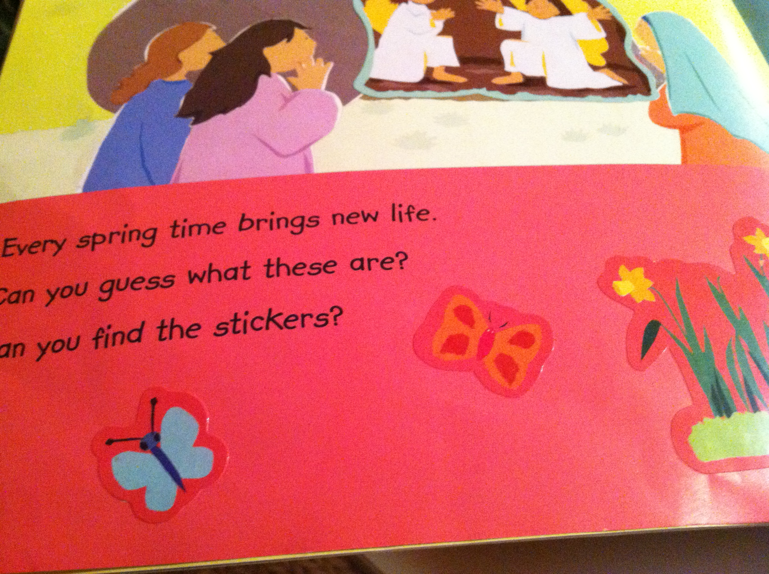 My Very First Easter Story Sticker Book Activity
