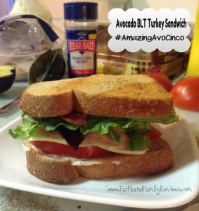 Avocado BLT and Turkey Sandwich