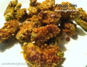 Avocado Fries Cinco de Mayo