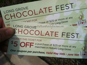 Long Grove Chocolate Festival Tickets