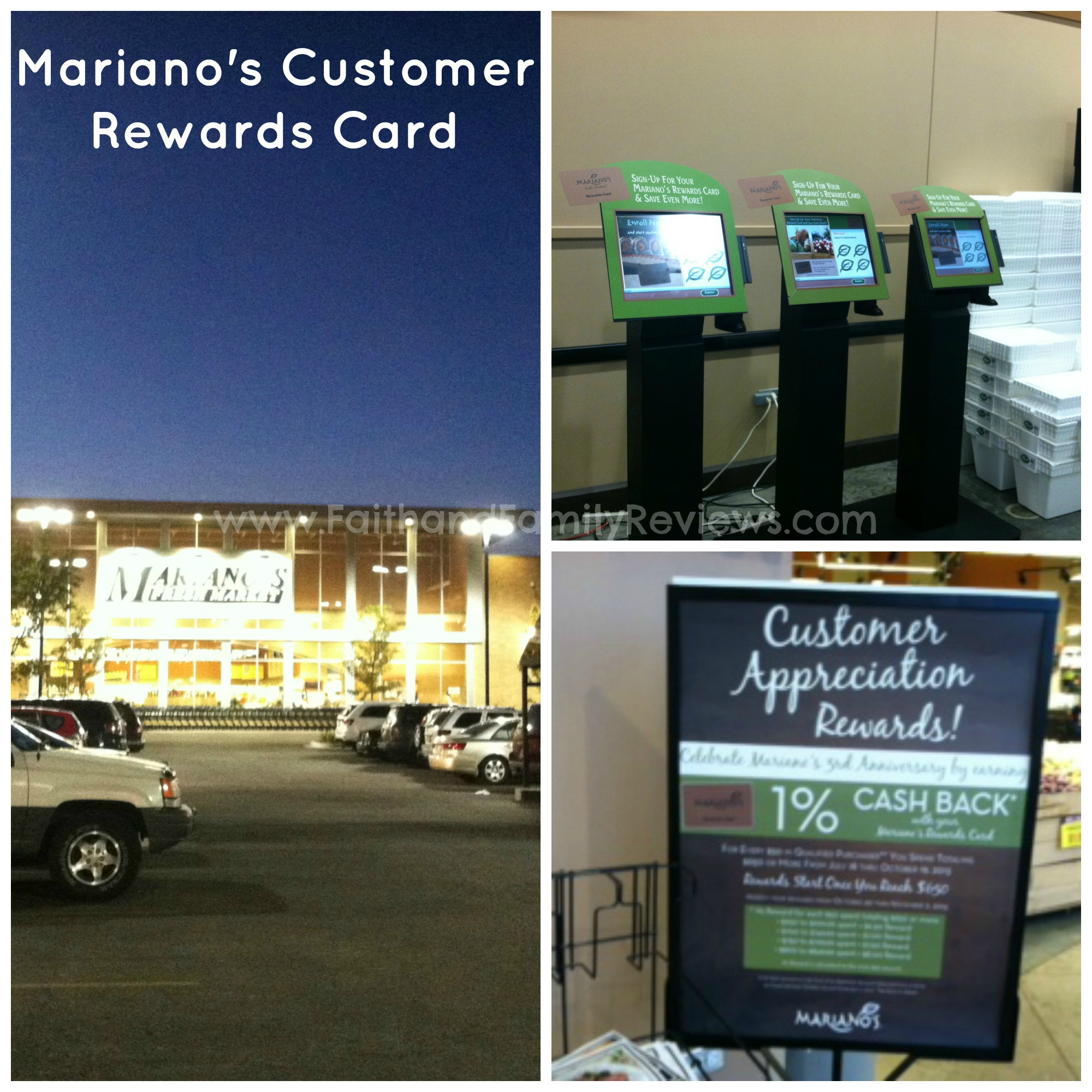 Mariano's Rewards Card Collage_