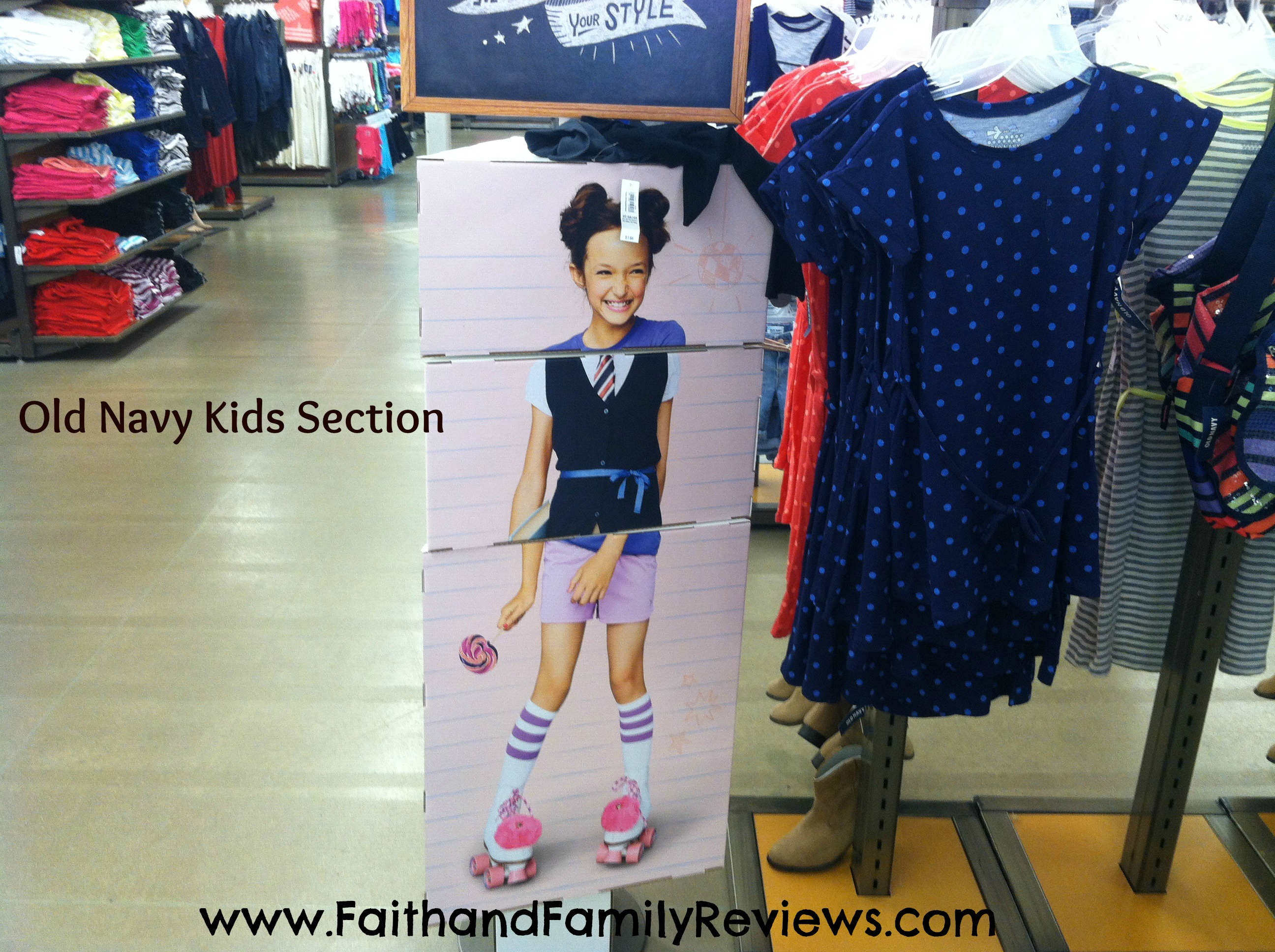 Old Navy Kids Section-edit