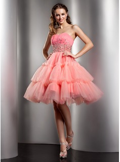 Sleeveless homecoming dresses