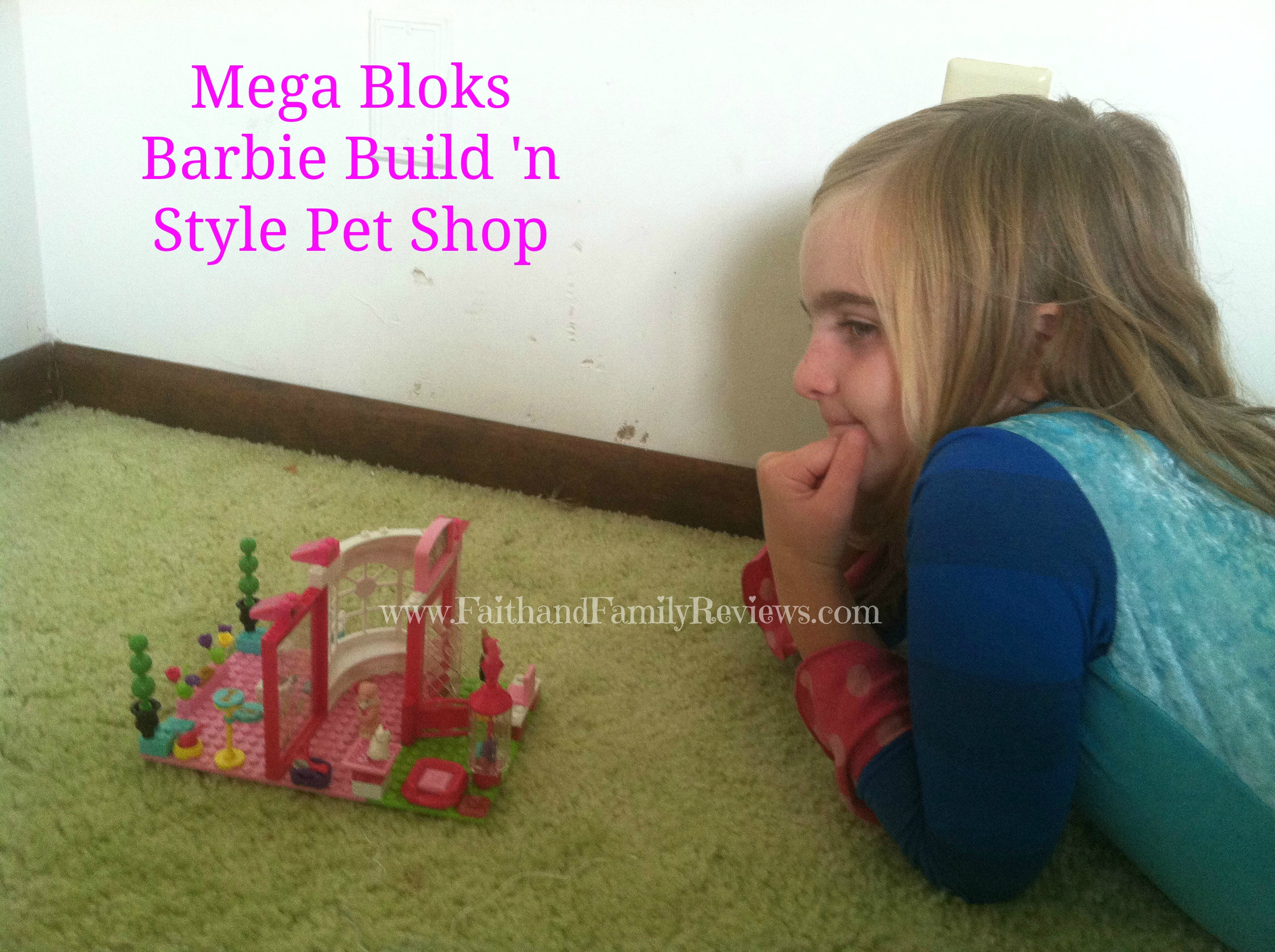 Blondie with Barbie Build 'n Style Pet Shop_