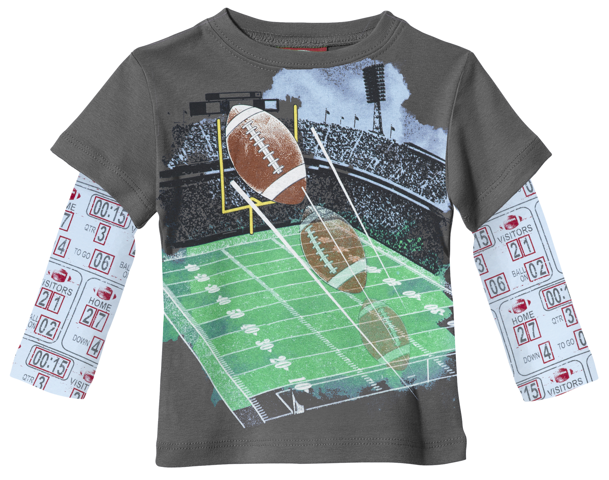 City Threads Football tee