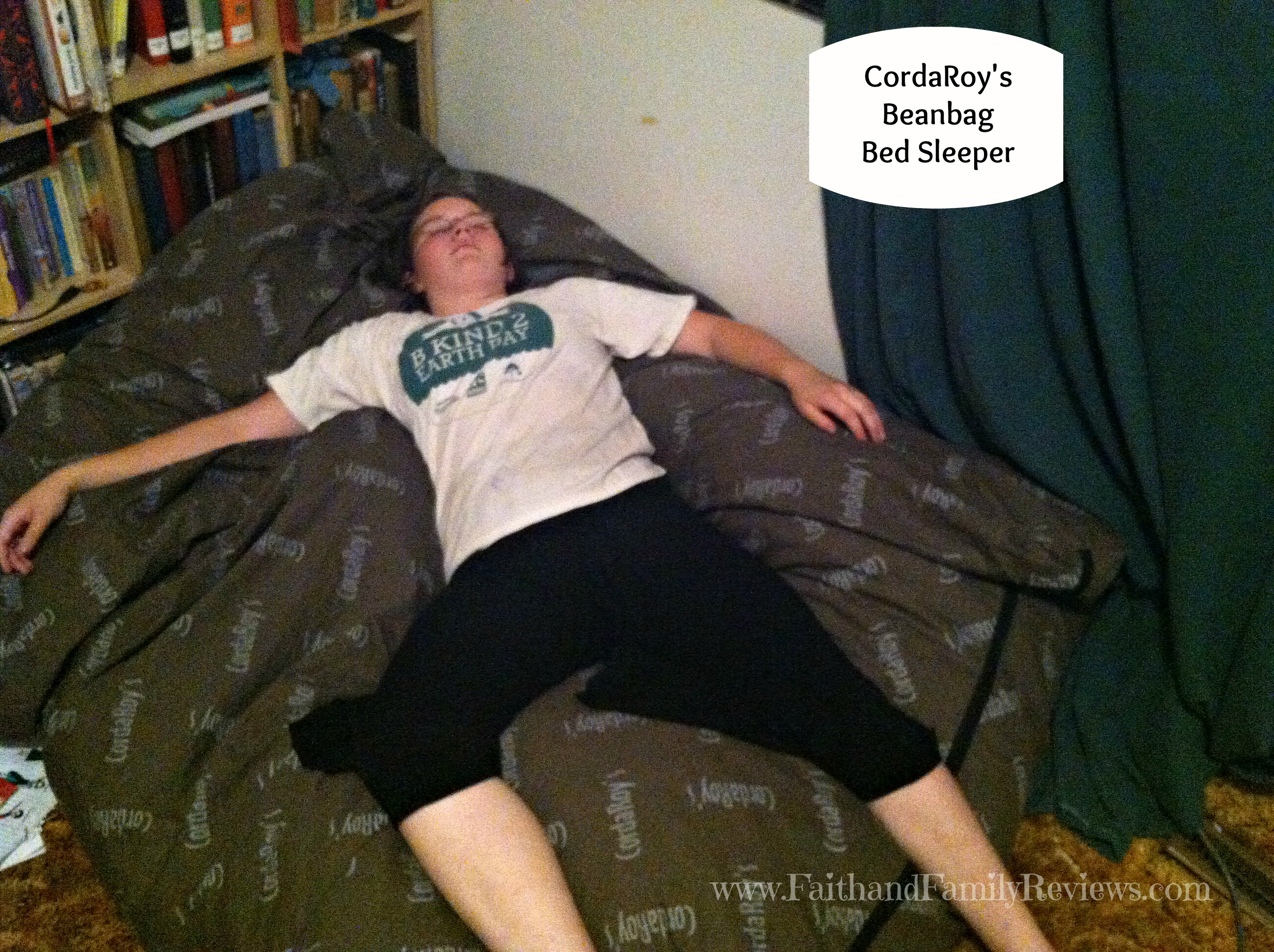 CordaRoys Beanbag Bed Sleeper