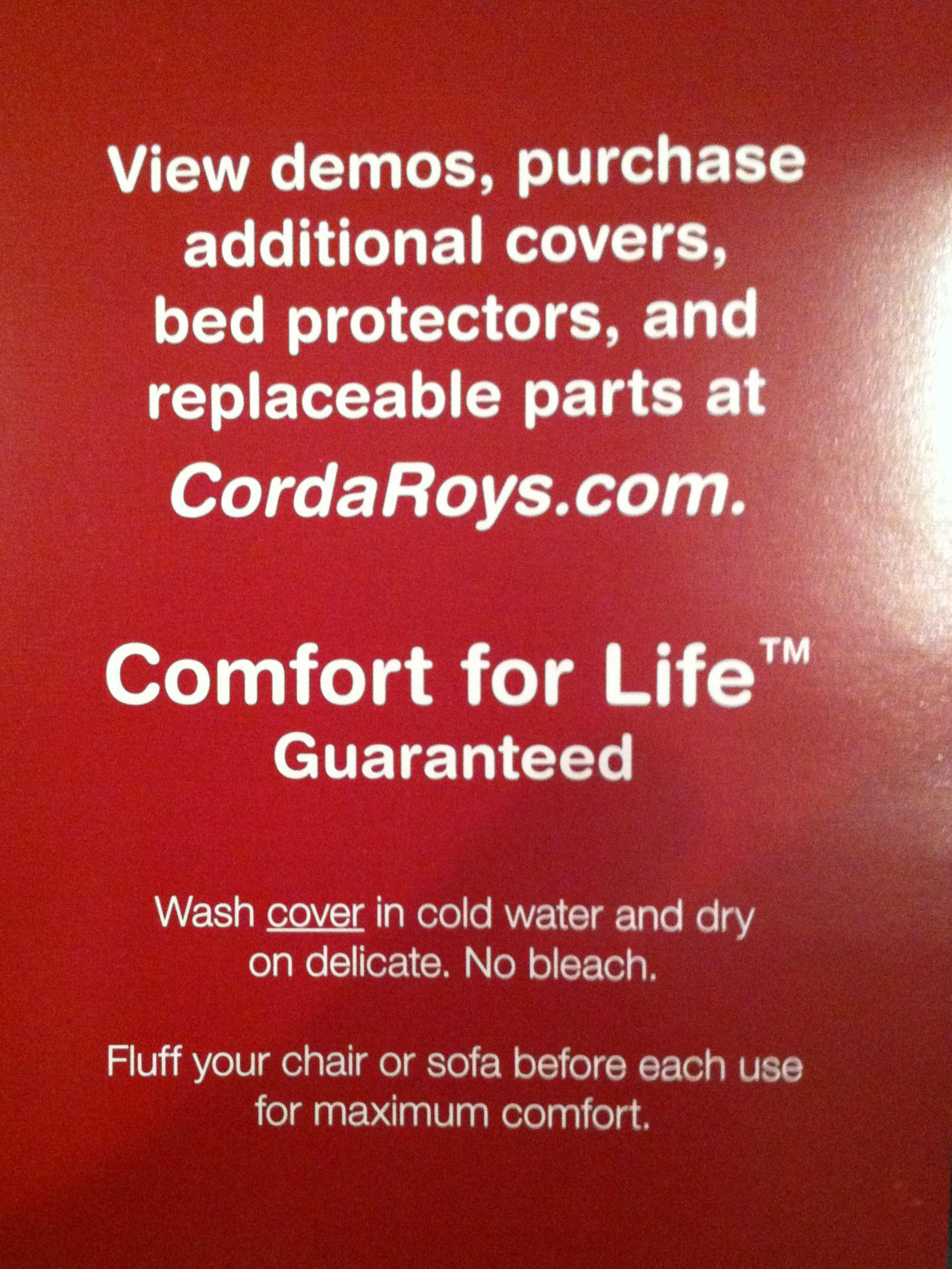 CordaRoy's Guarantee_