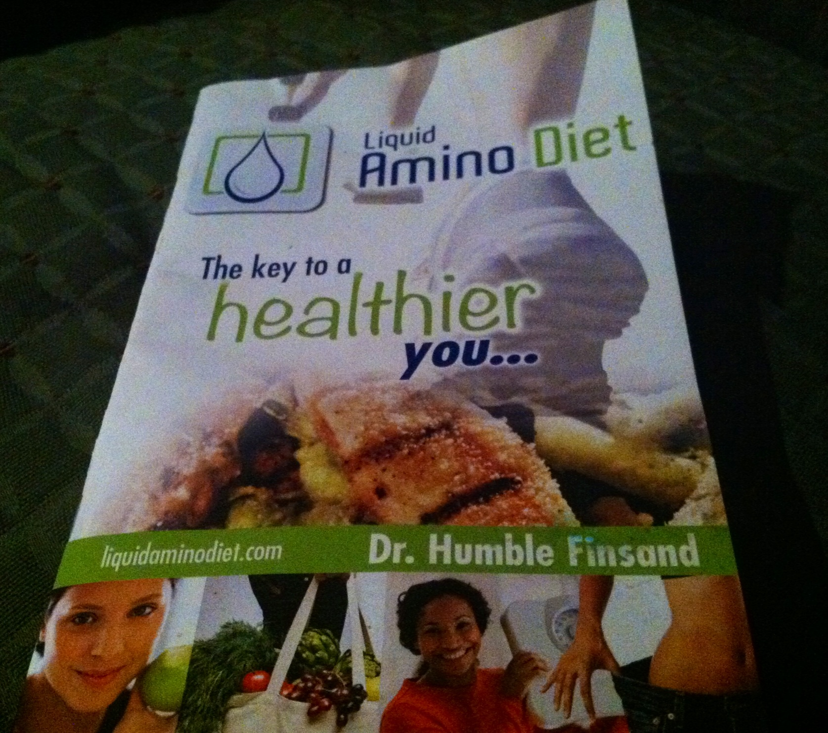 Liquid Amino Diet Booklet