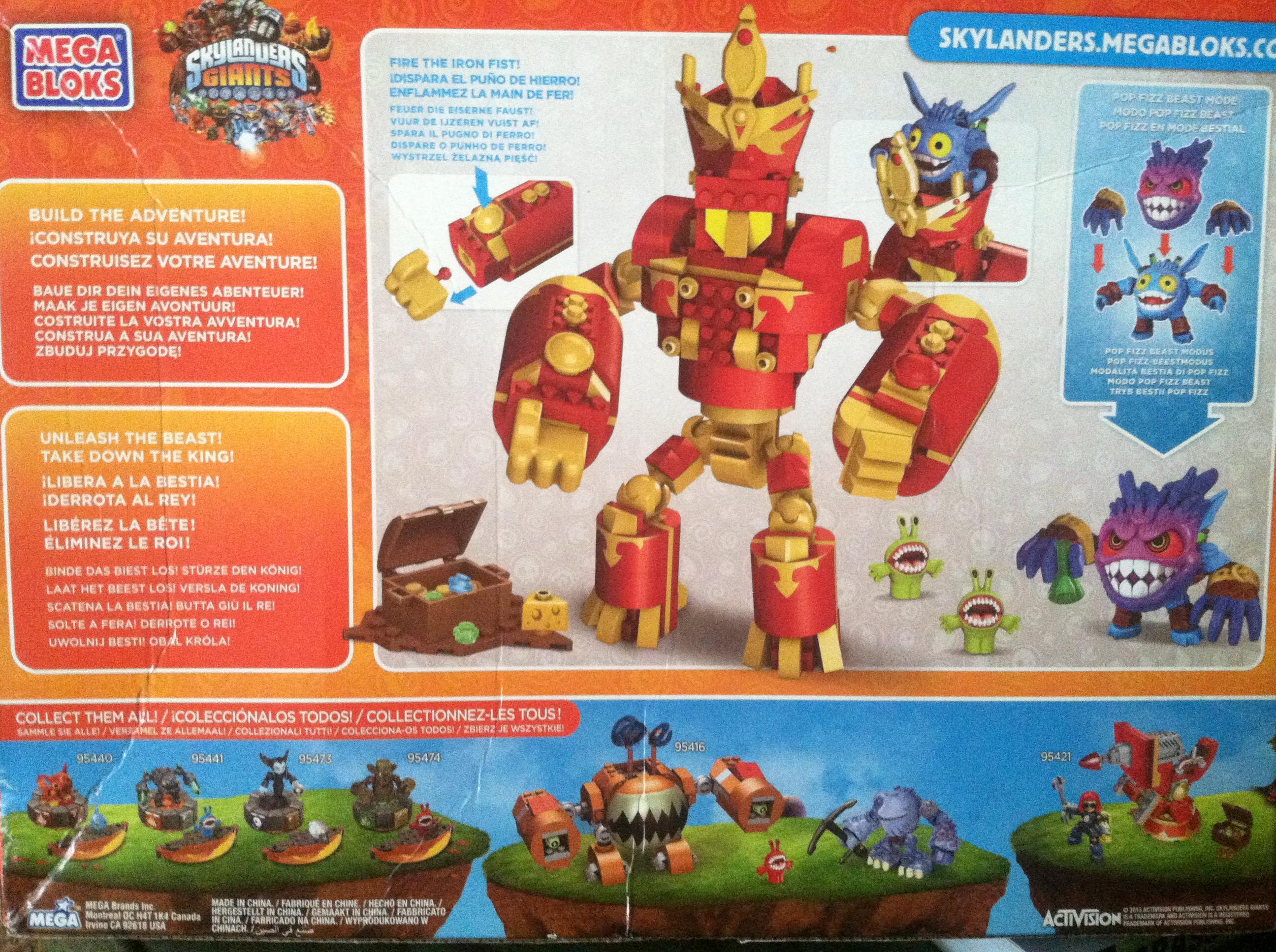 Mega Bloks Skylanders Giant 2