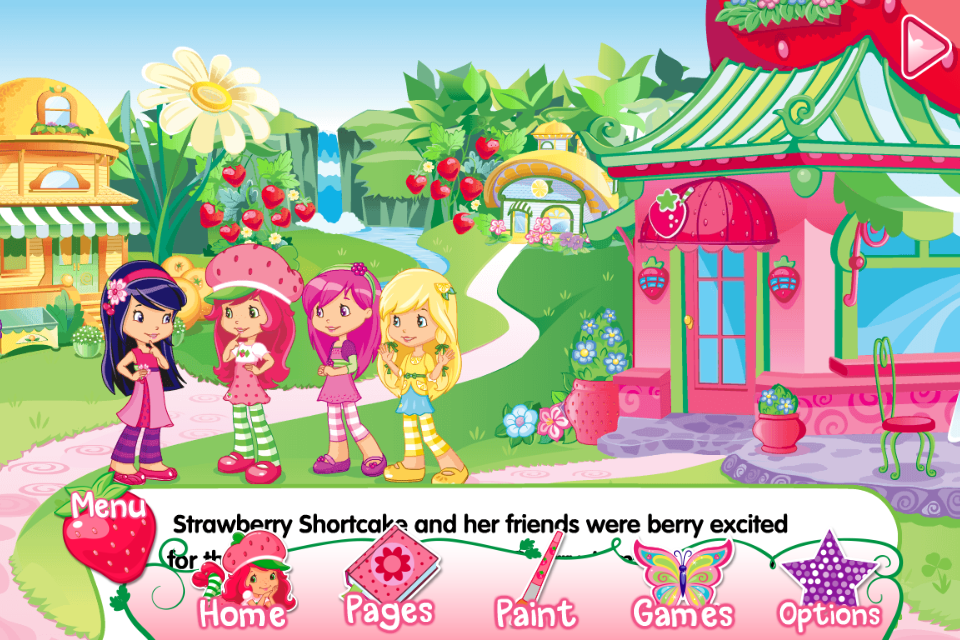 Strawberry Shortcake Berry Best Friends 2