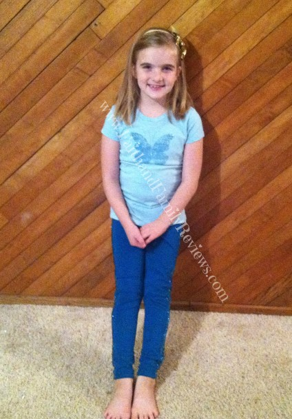 FFR Blondie in RUUM Kids Blue Outfit