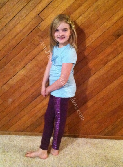 FFR Blondie in RUUM Kids Purple Outfit