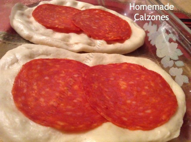 FFR Calzones with Pepperoni
