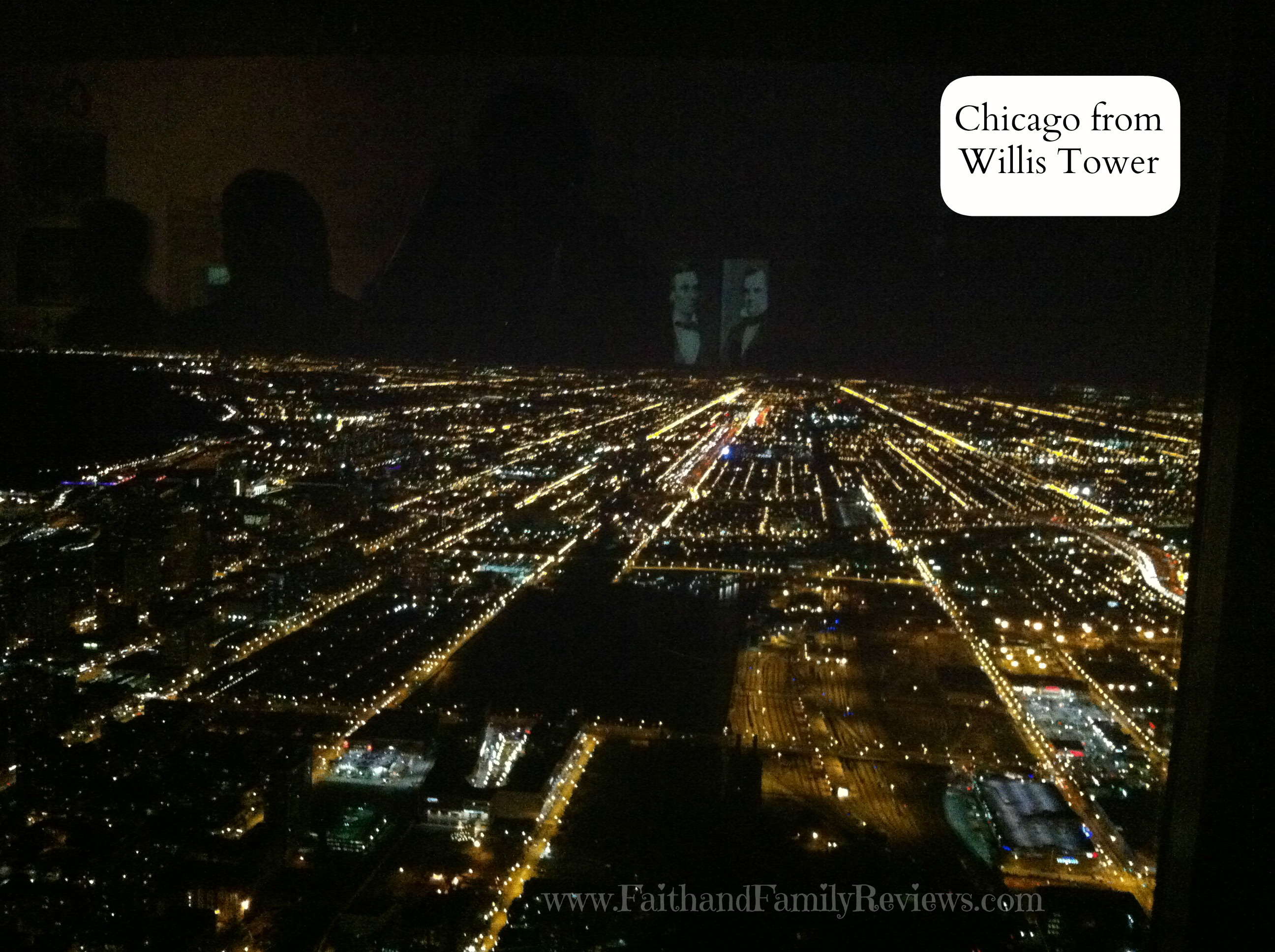 FFR Chicago at Night from Willis Tower 2