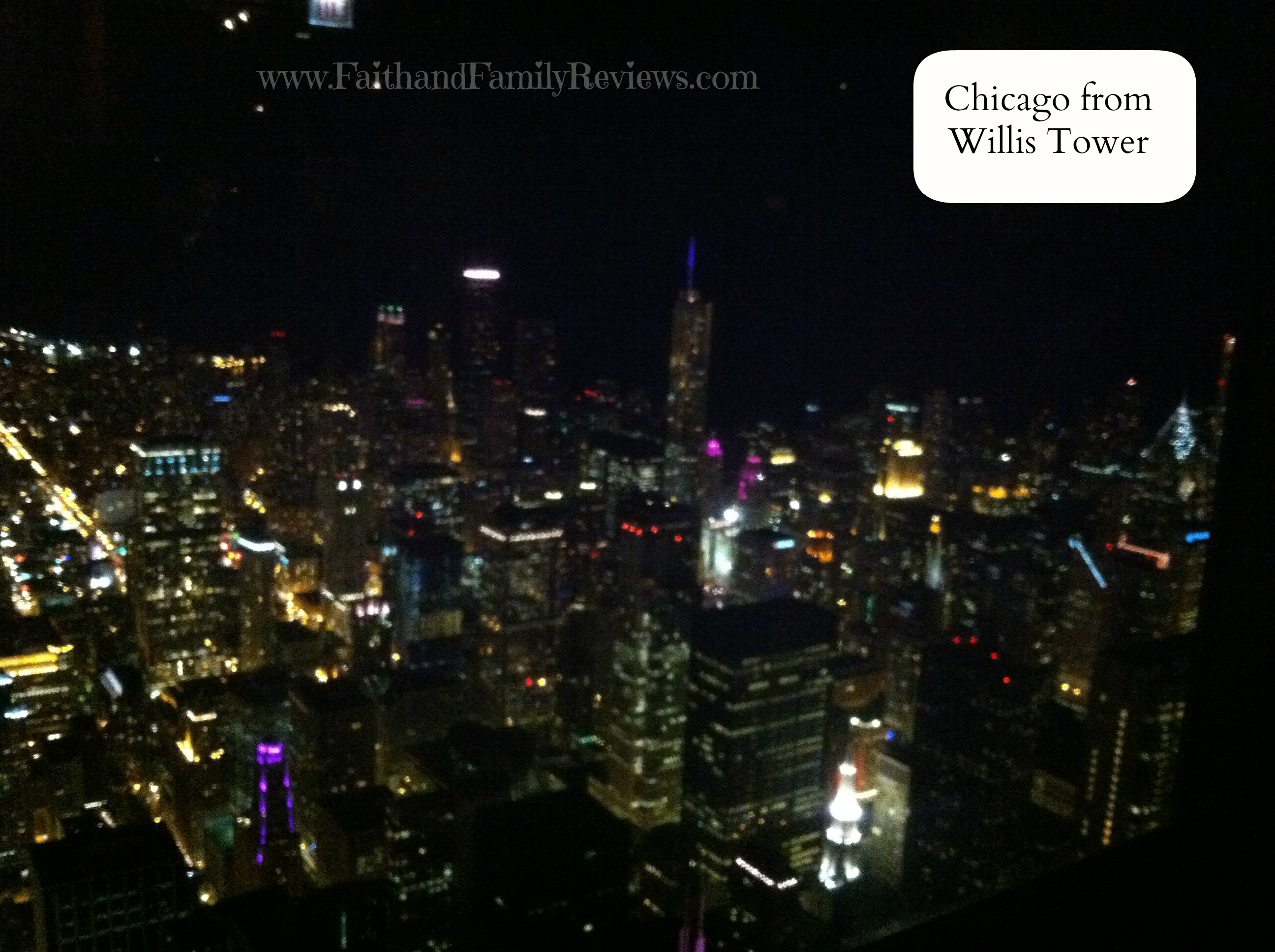 FFR Chicago at night from Willis Tower