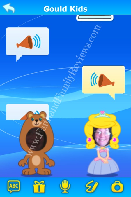 FFR Kid Connect App Voice Messages