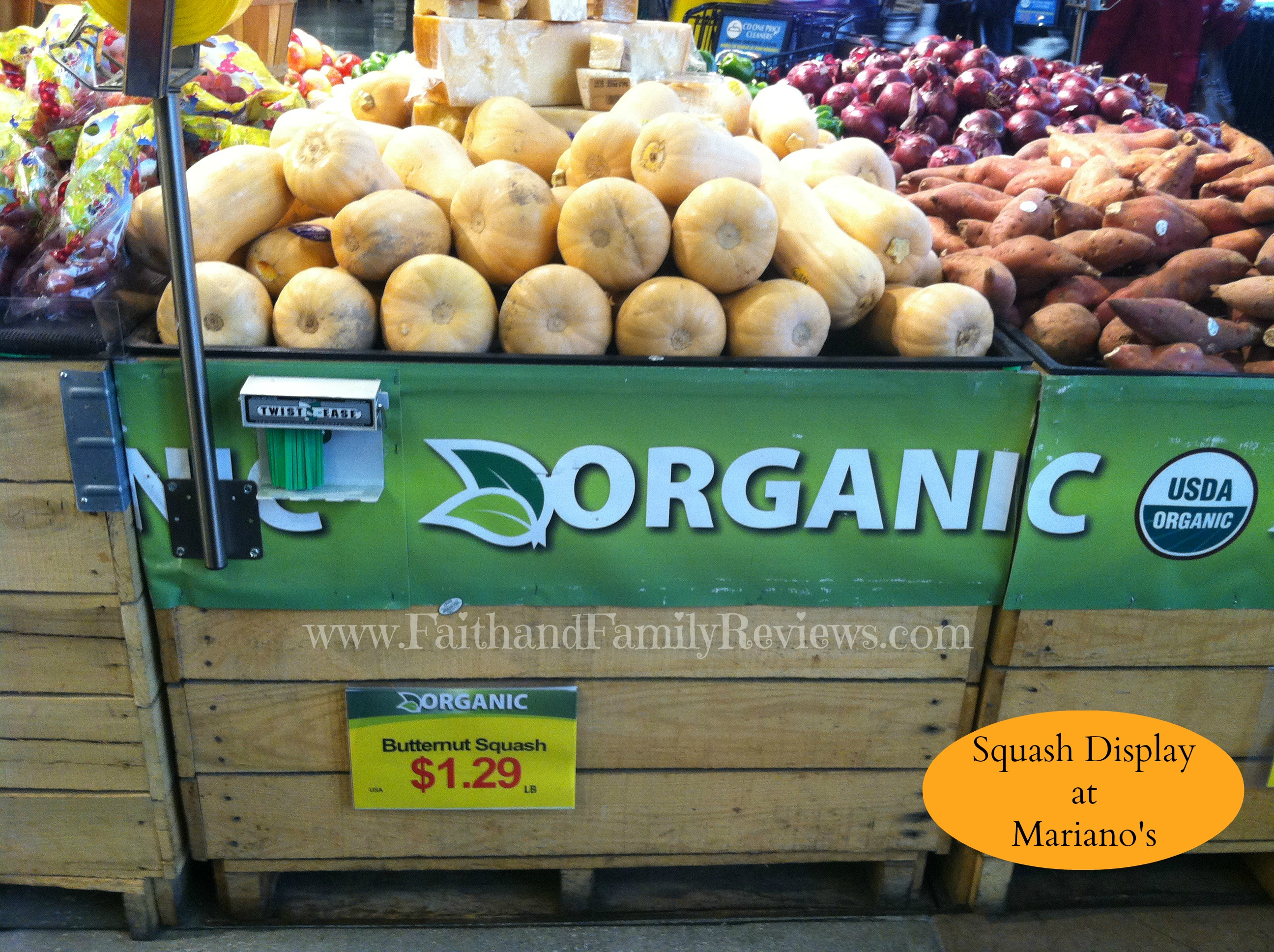 FFR #MyMarianos Squash Display