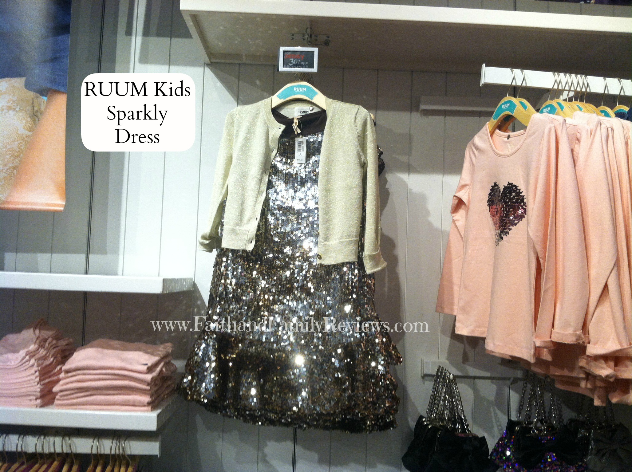 FFR RUUM Kids Sparkly Dress