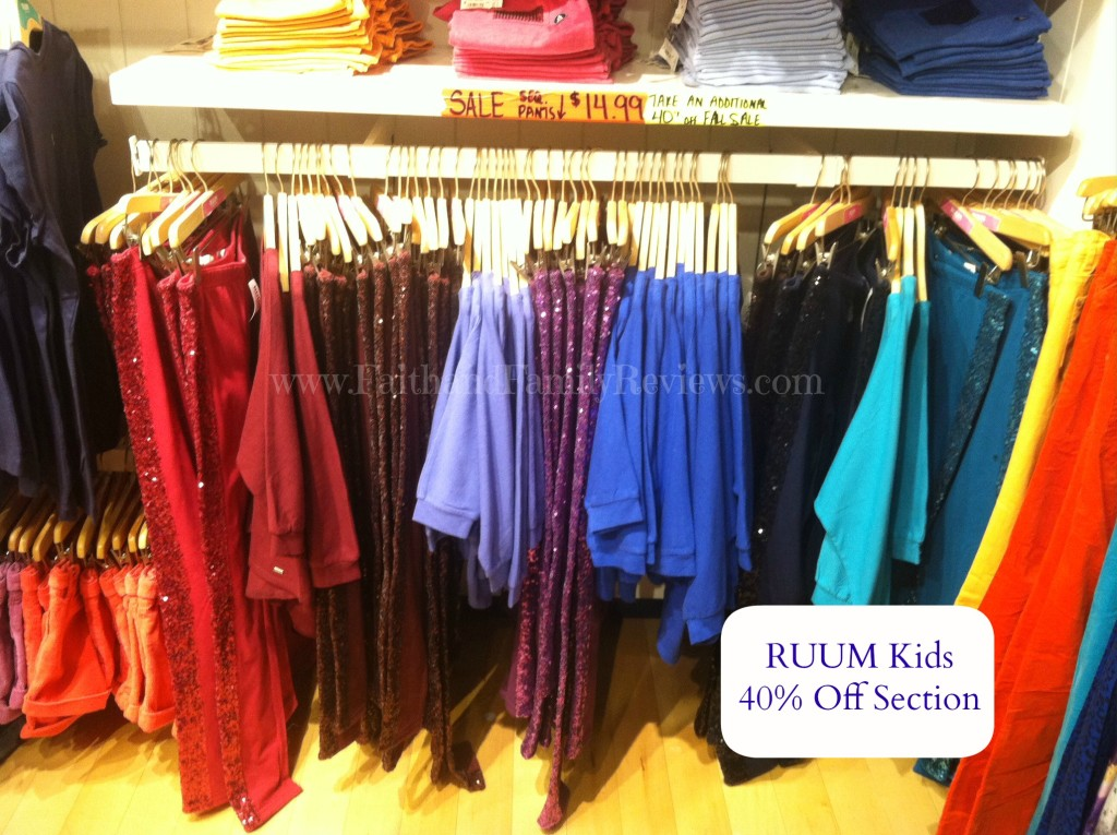 FFR RUUM Kids Sparkly Pants
