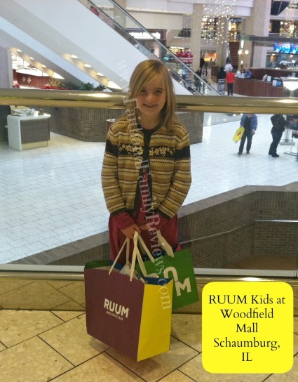 FFR RUUM Kids at Woodfield Mall