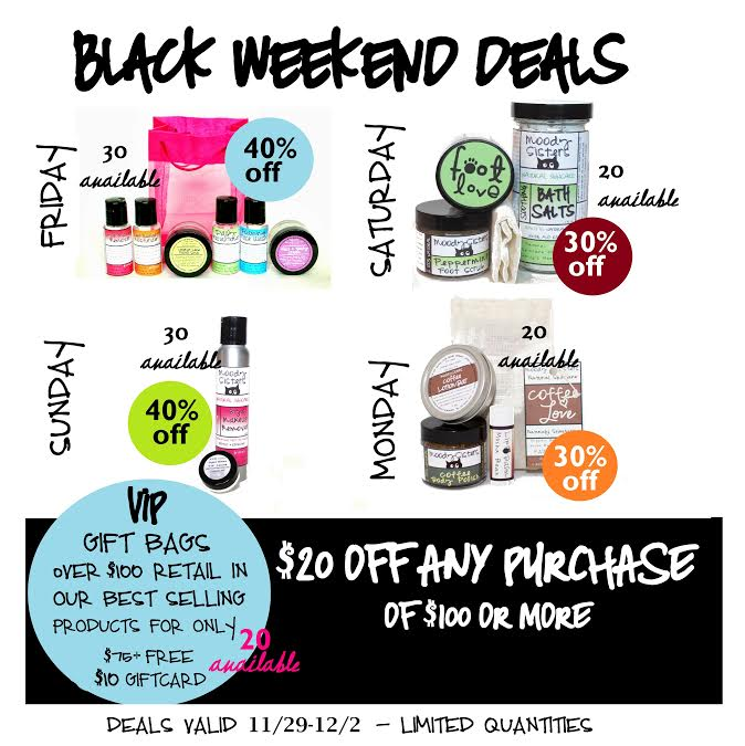 Moody Sisters Black Friday Sales