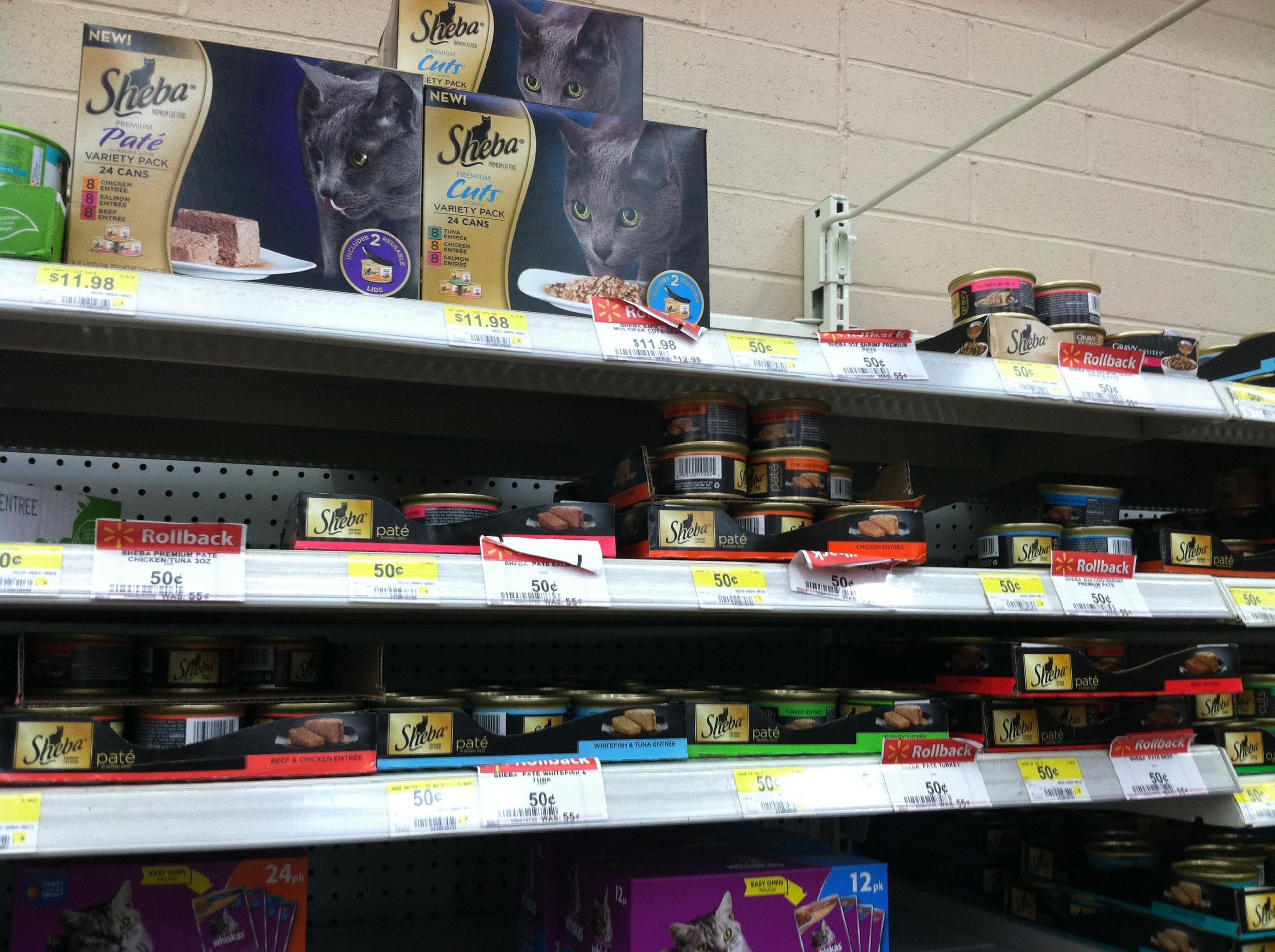 SHEBA BRAND Walmart #shop #cbias