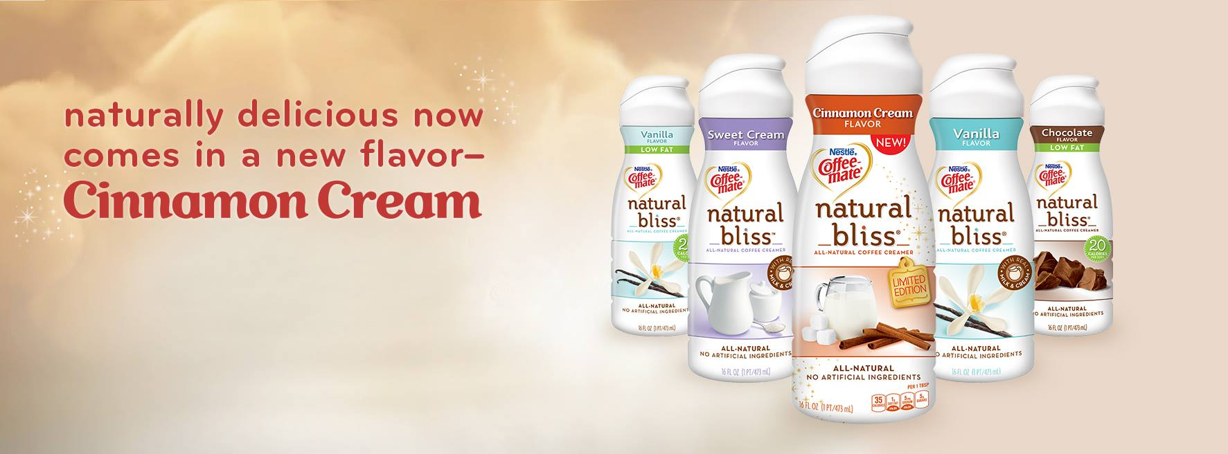 Cinnamon Cream Coffee-mate Natural Bliss