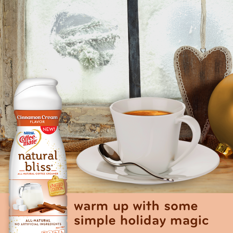 Holidays with Coffee-mate Natural Bliss