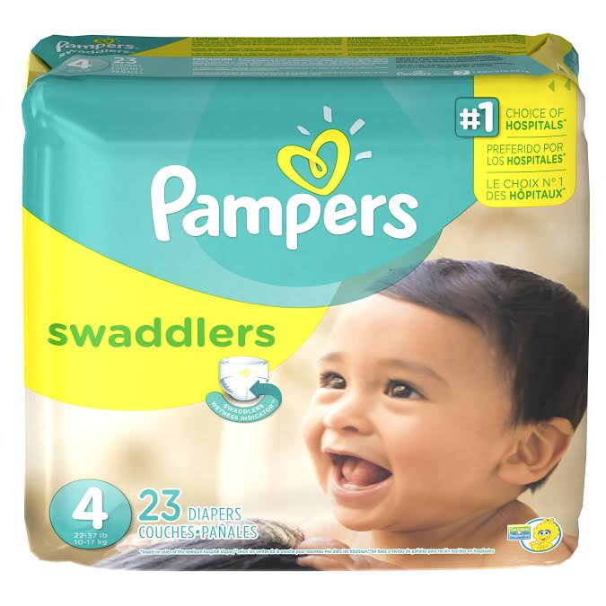 Pampers #Swaddlersfirsts