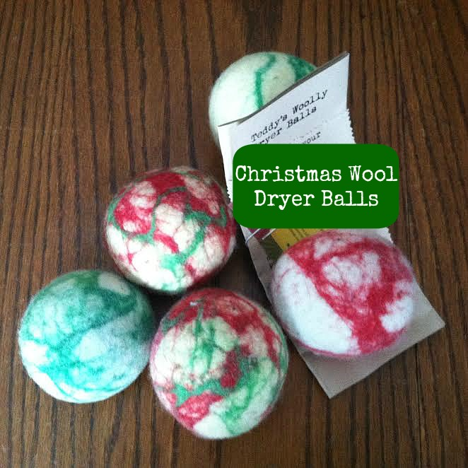 FFR Christmas Wool Dryer Balls