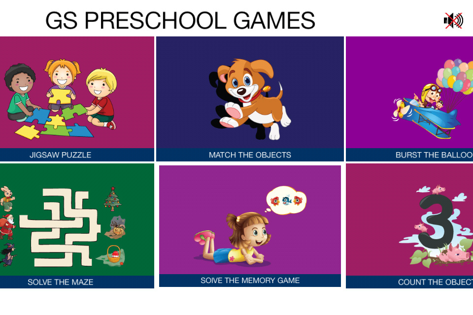 GS Preschool Games for Android_2