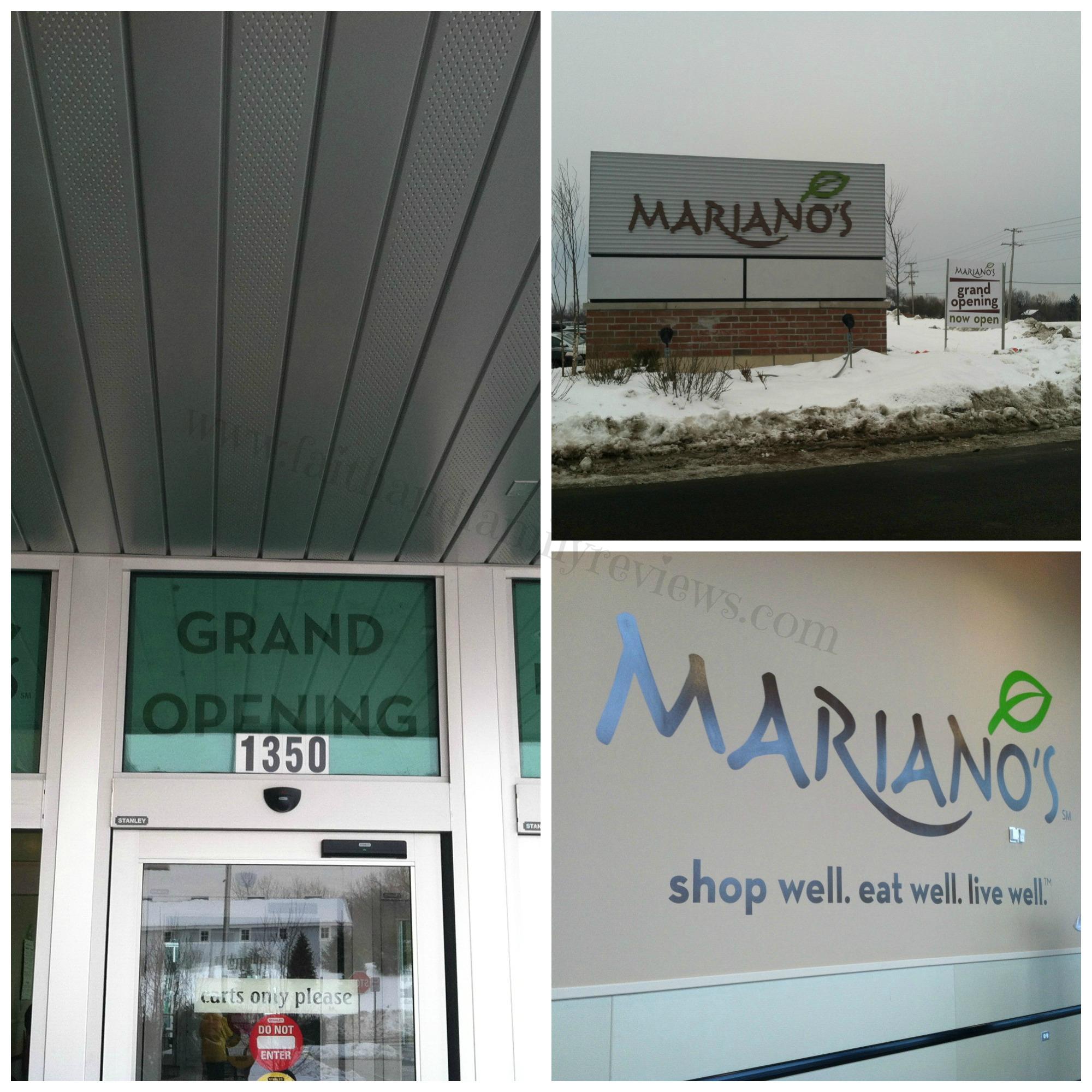 FFR Grocery Store Chicago Mariano's Lk Zurich Grand Opening