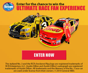 Kroger Ultimate Race Fan Experience