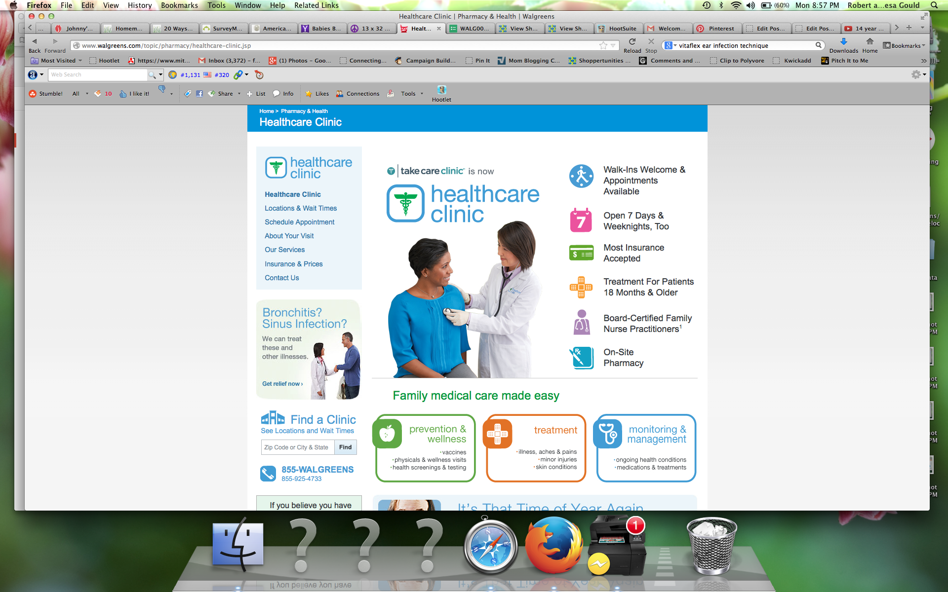 Screen Shot Healthcare Clinic Chicago