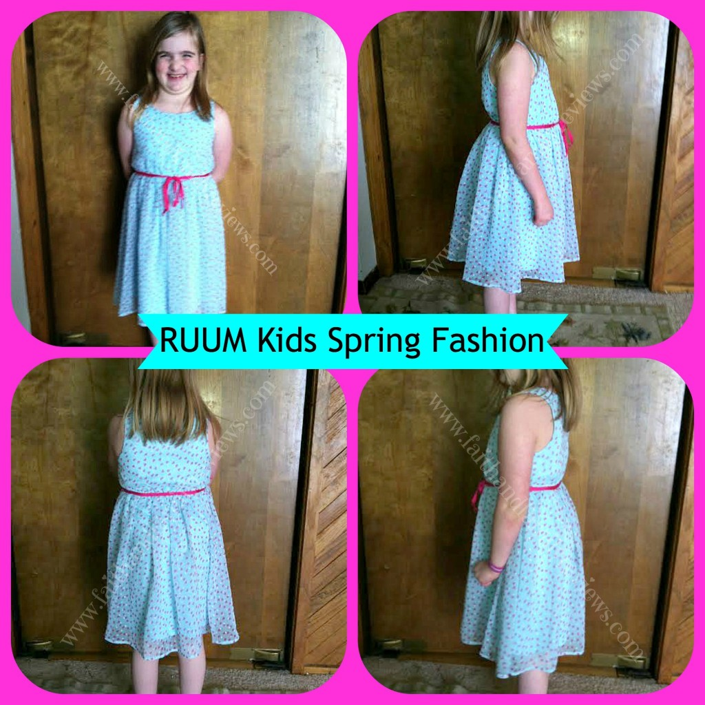 FFR RUUM Kids Dress Collage