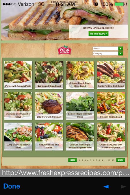 Fresh Express Salad Swap App 5