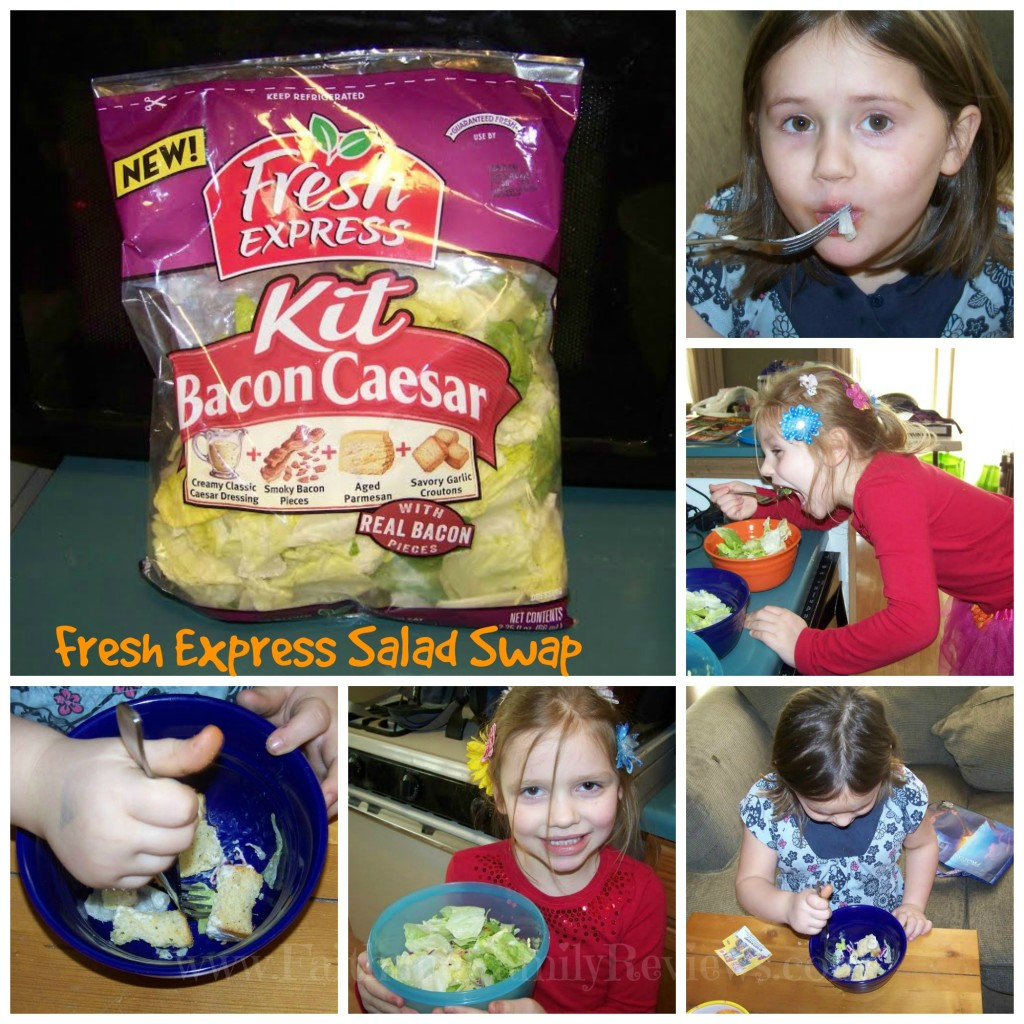 Fresh Express Salad Swap Magen Collage