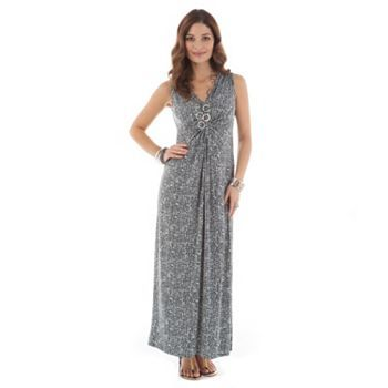 Printed Maxi Dress #SpringAtKohl's