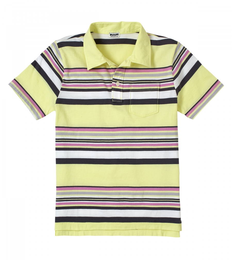 RUUM Kid's Vintage Stripe Polo