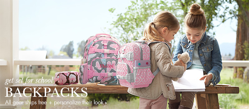 Free Shipping On All Pottery Barn Backpacks