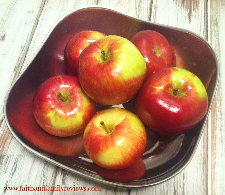 FFR Apples in a bowl