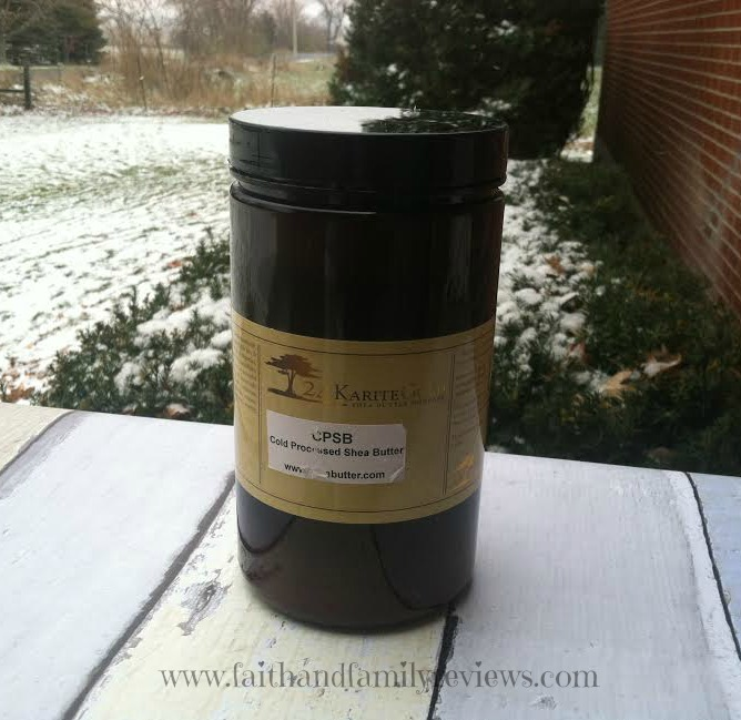 FFR Cold Processed Shea Butter
