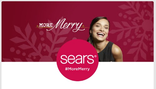 Sears #MoreMerry